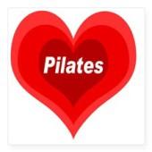 pilates_expanding_heart_square_sticker_3_x_3